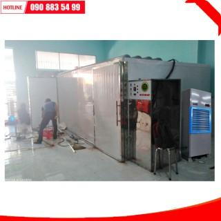 Máy sấy bơm nhiệt ad12 216 khay 72x100cm