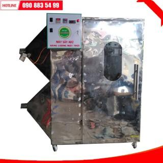 máy sấy năng lượng mặt trời ad3, thu nhiệt trực tiếp dạng tấm